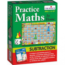 AT7063 Practice Maths at Home Subtraction